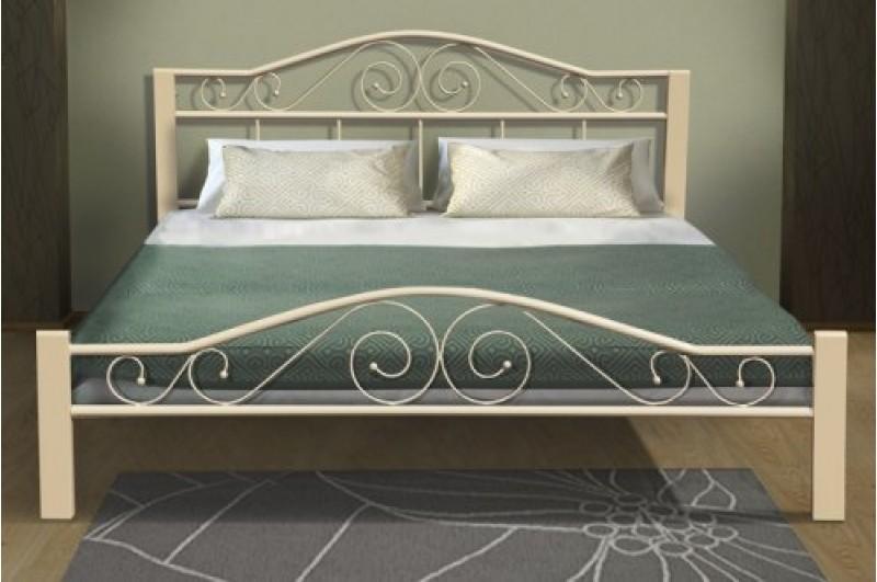 Кровать Респект Вуд (бежевая)