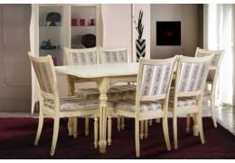 Стол обеденный Венеция (слон.кость)
