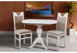 Стол обеденный Триумф (белый, ваниль)