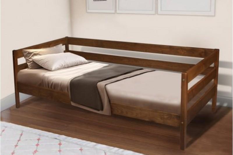 Кровать односпальная Sky-3 (коньячная)