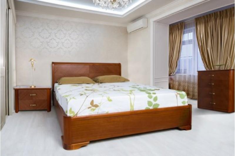 Кровать Ассоль (бук, на подъёмной раме)