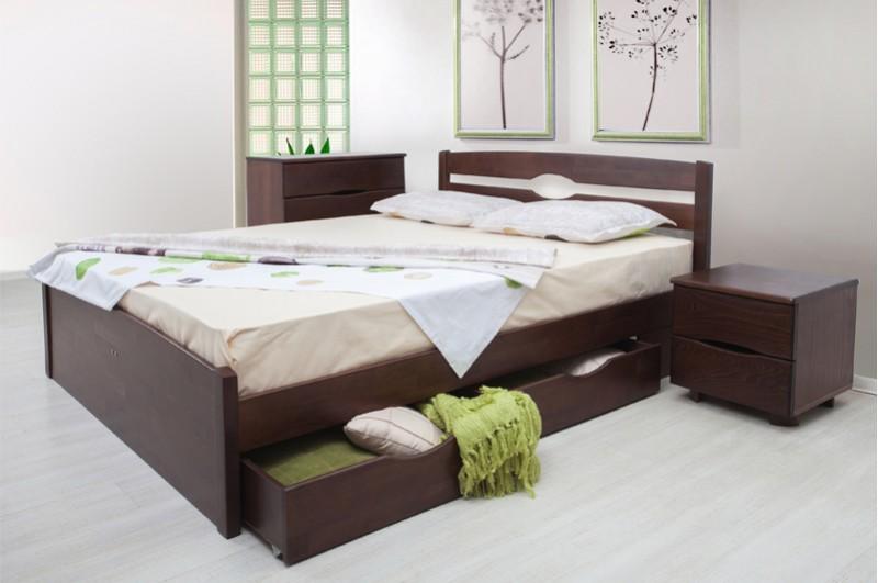 Кровать Ликерия-Люкс (с ящиками)