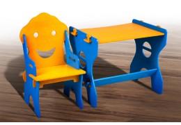 Детский набор Маус (жёлто-синий)