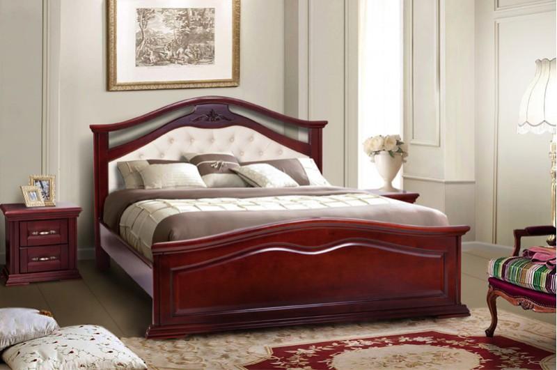 Кровать Маргаритта (каштан)
