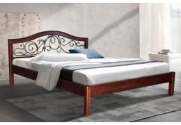 Кровать Илонна (ольха, каштан) - 1,6м